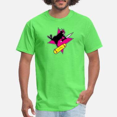 Ninja Cat Ninja Cat Star - Men's T-Shirt