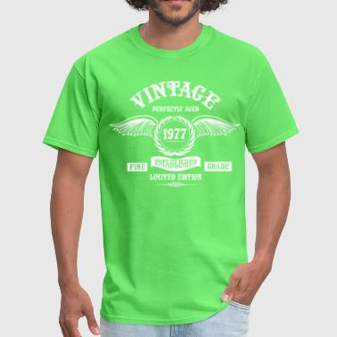 Vintage Perfectly Aged 1977 - Men's T-Shirt