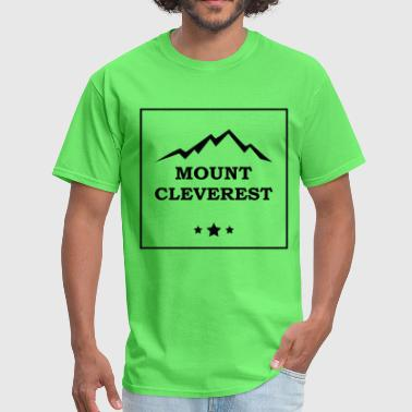 Mount Cleverest - Men's T-Shirt