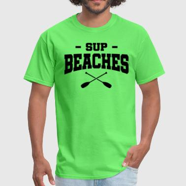 SUP Beachers Paddle - Men's T-Shirt