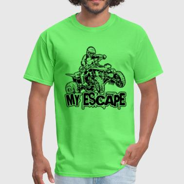ATV Quad My Escape - Men's T-Shirt