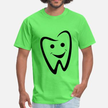 Design Teeth DENTAL / TOOTH / TEETH / DENTIST / SMILE DESIGN - Men's T-Shirt
