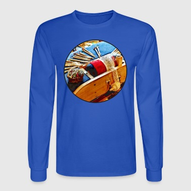Bobbin Lace - Men's Long Sleeve T-Shirt