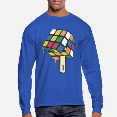 Anns Selection Rubik's Cube Popsicle - Men's Longsleeve Shirt