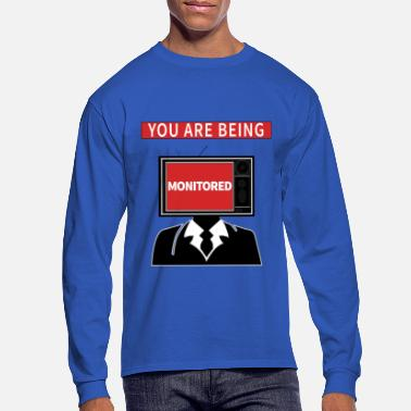 Monitoring Monitoring - Men's Longsleeve Shirt