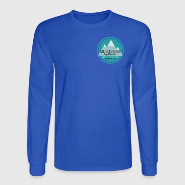 Mt Scrunchie Expedition Co: Home of the Disco Yeti - Men's Long Sleeve T-Shirt