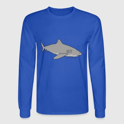Shark! - Men's Long Sleeve T-Shirt