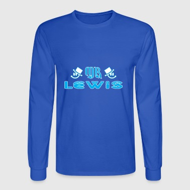 Mr Lewis - Men's Long Sleeve T-Shirt