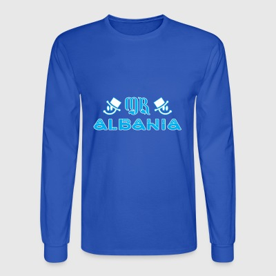 Mr Albania - Men's Long Sleeve T-Shirt