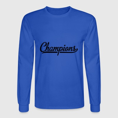 Champion - Men's Long Sleeve T-Shirt