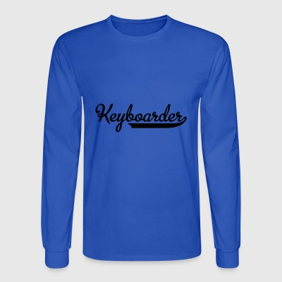 keyboard - Men's Long Sleeve T-Shirt