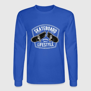 Skateboard Lifestyle - Men's Long Sleeve T-Shirt
