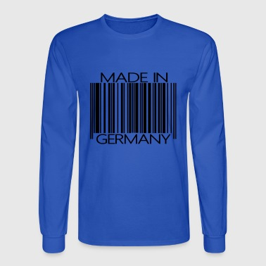 Barcode made in Germany - Men's Long Sleeve T-Shirt