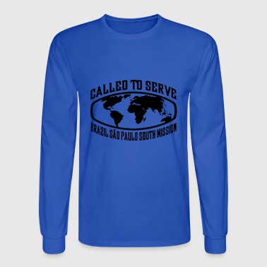 Brazil Sao Paulo South Mission - LDS Mission CTSW - Men's Long Sleeve T-Shirt