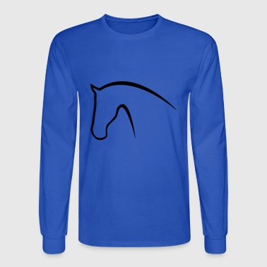 horse - Men's Long Sleeve T-Shirt