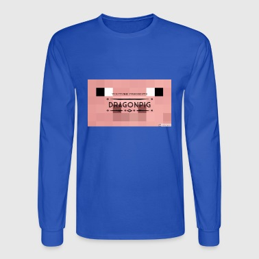 dragonpig merche - Men's Long Sleeve T-Shirt