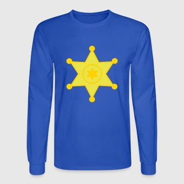 sheriff - Men's Long Sleeve T-Shirt