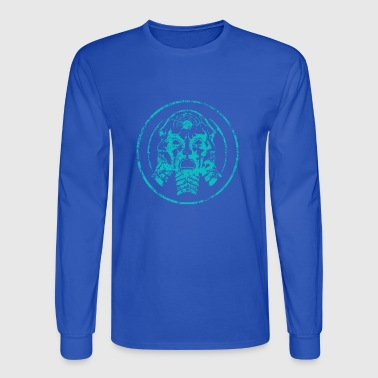mask bl - Men's Long Sleeve T-Shirt