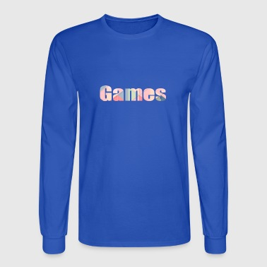 games - Men's Long Sleeve T-Shirt