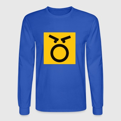 Mad Face - Men's Long Sleeve T-Shirt