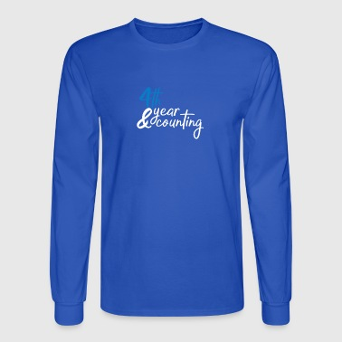 4th anniversary - Men's Long Sleeve T-Shirt