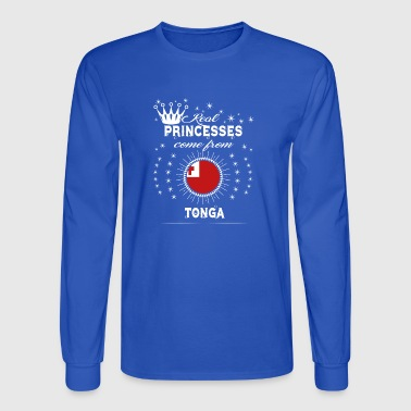 queen love princesses TONGA - Men's Long Sleeve T-Shirt