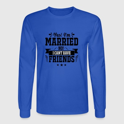 married - Men's Long Sleeve T-Shirt