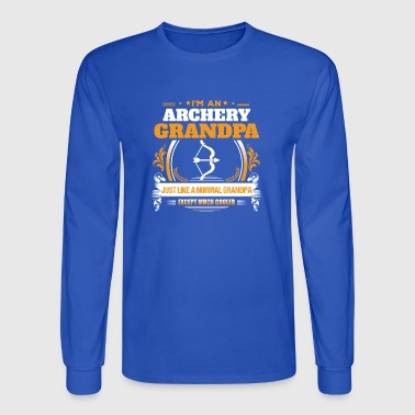 Archery Grandpa Shirt Gift Idea - Men's Long Sleeve T-Shirt