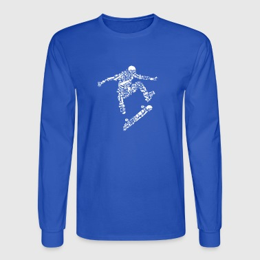 Skater - Men's Long Sleeve T-Shirt