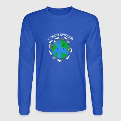 Save the Earth, stop war global warming - Men's Long Sleeve T-Shirt