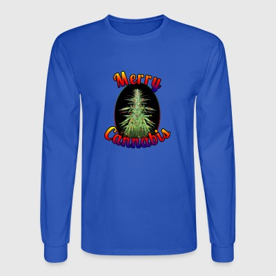 Merry Cannabis - Men's Long Sleeve T-Shirt