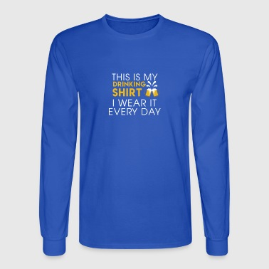 Awesome Shirt For Beer Lover. Gift For Dad/Granpa - Men's Long Sleeve T-Shirt