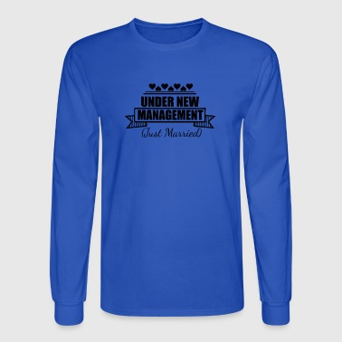 Under new management - Men's Long Sleeve T-Shirt