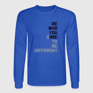 be yourself - Men's Long Sleeve T-Shirt