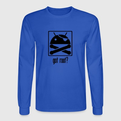 Android Root - Men's Long Sleeve T-Shirt