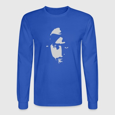 Airbrushed Stencil - Men's Long Sleeve T-Shirt