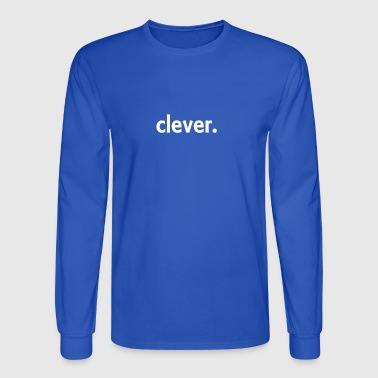 clever - Men's Long Sleeve T-Shirt