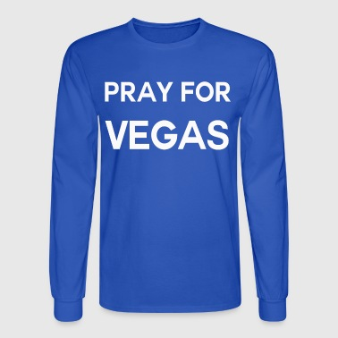 Pray for Vegas shirt - Men's Long Sleeve T-Shirt