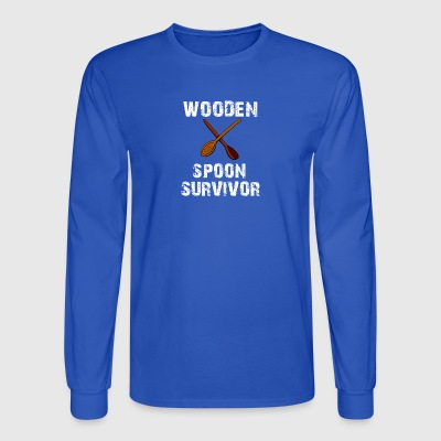 Wooden Spoon Survivor - Men's Long Sleeve T-Shirt
