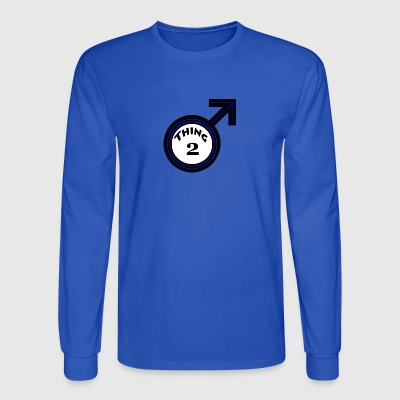 thing 2 male - Men's Long Sleeve T-Shirt