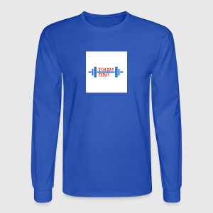 gym_day_today - Men's Long Sleeve T-Shirt