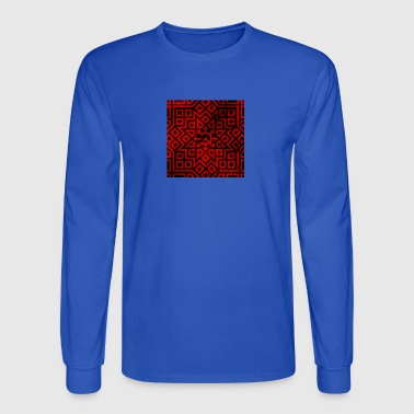 Detailed Chaos Communism Button - Men's Long Sleeve T-Shirt