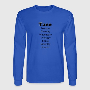 taco tuesday - Men's Long Sleeve T-Shirt
