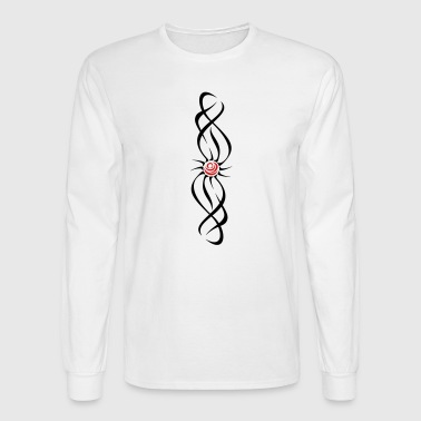 rose_tribal - Men's Long Sleeve T-Shirt