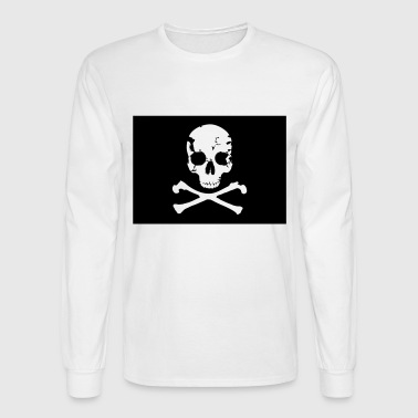 Pirate, Pirat Flag - Men's Long Sleeve T-Shirt