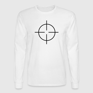crosshairs - Men's Long Sleeve T-Shirt