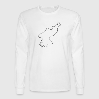 North Korea - Men's Long Sleeve T-Shirt