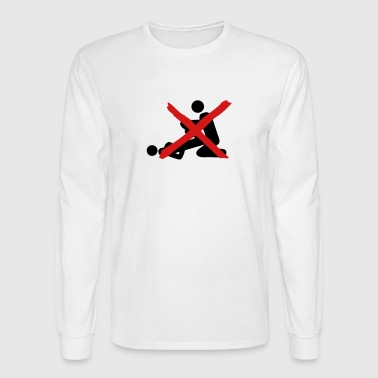 prohibits sex love 2 - Men's Long Sleeve T-Shirt