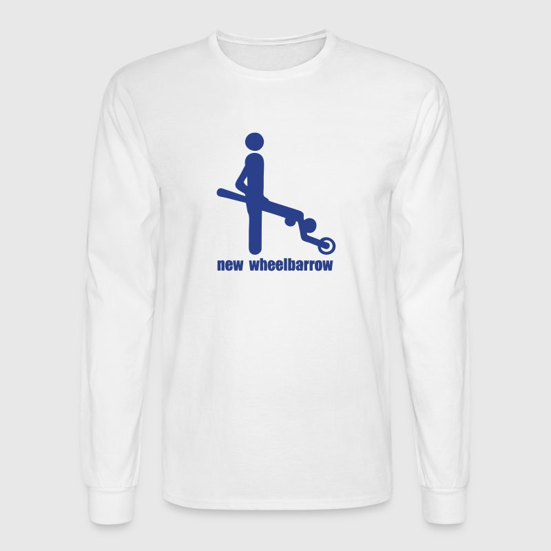 new wheelbarrow sex position - Men's Long Sleeve T-Shirt