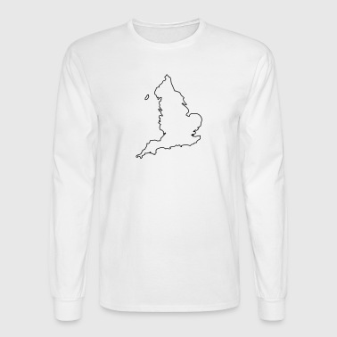 England - Men's Long Sleeve T-Shirt